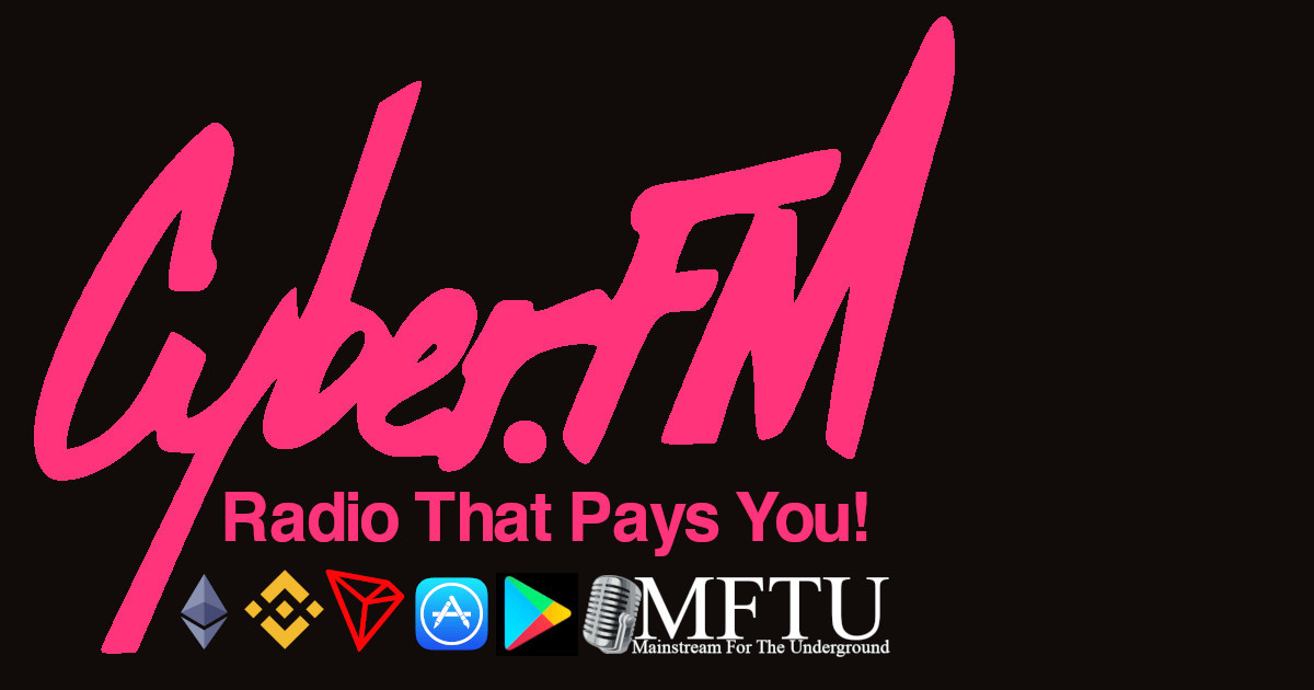DeFi Your World, Come Live In Ours. Free Money Radio, Cyber.FM